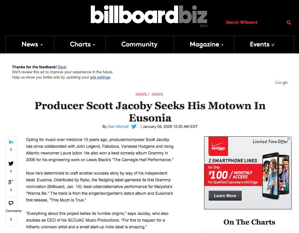 Billboard 2009