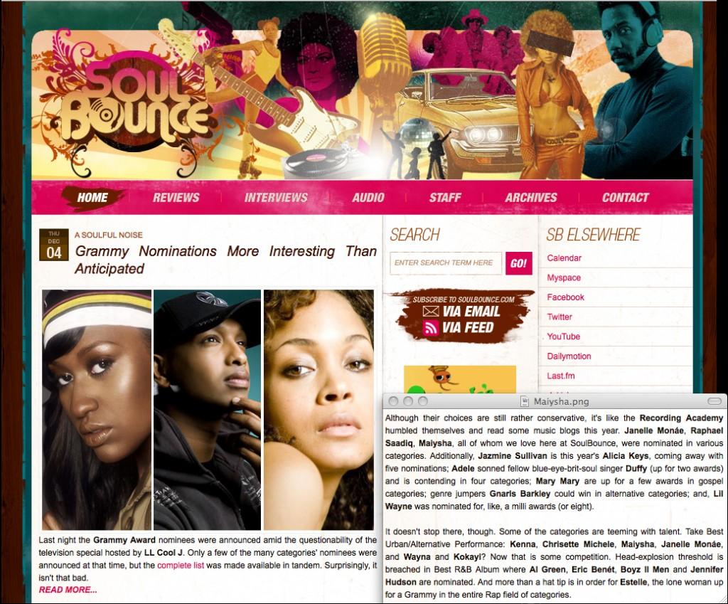 M - Soul Bounce_Best of 2008